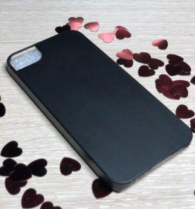 Чехол и стекло на iPhone 5SE