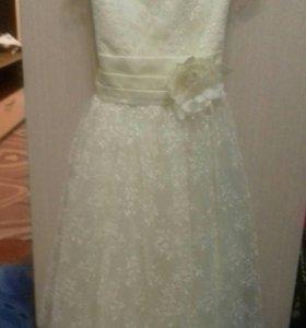 Платье нарядное 7-10 лет