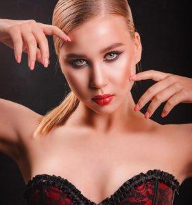 Визажист-стилист, макияж, прически, брови