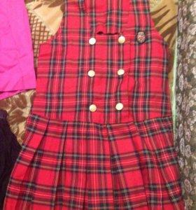 Одежда для девочки 8-11лет