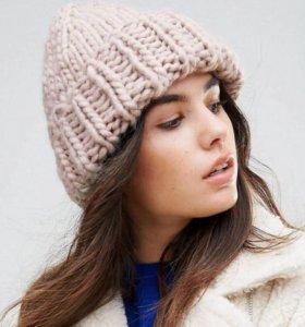 Зимняя вязаная шапка крупной вязки URBANCODE бини