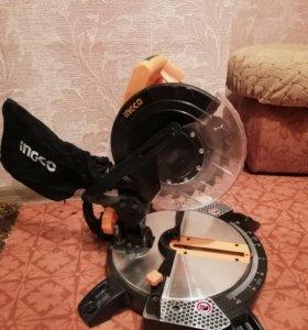 Пила торцовочная Ingco BSM 14002