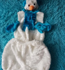 Снеговик, новогодний костюм.