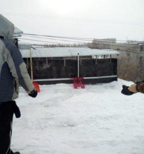 Уборка снега круглосуточно
