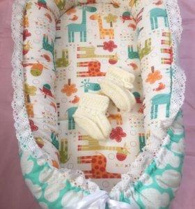 Гнездо кокон для новорождённых 🎀