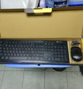 Беспроводные клавиатура для компьютера с мышкой
