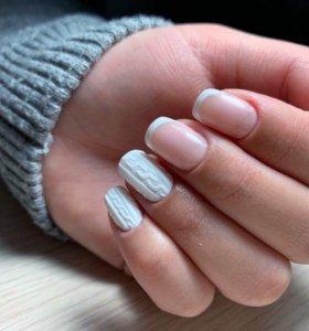 Маникюр, наращивание ногтей, гель-лак