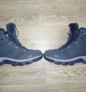 Ботинки мужские зимние salomon climatherm waterpro