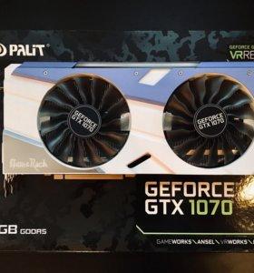 GTX 1070 8 GB Palit GameRock Premium можно обмен