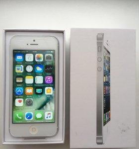 iPhone 5 Оригинал 16 Гбайт. Новый.
