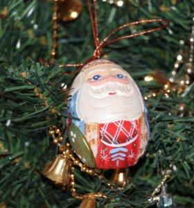 Дед Мороз в форме яйца
