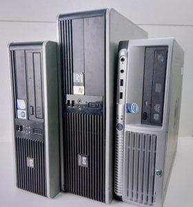 Компктные пк HP Compaq dc7800p/dc7700/dc5750 SFF