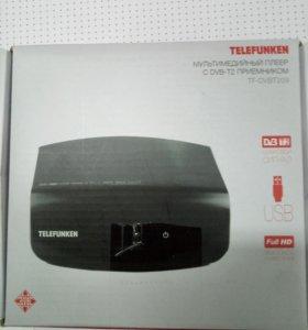 Ресивер Telefunken TF-dvbt209 (коробка)