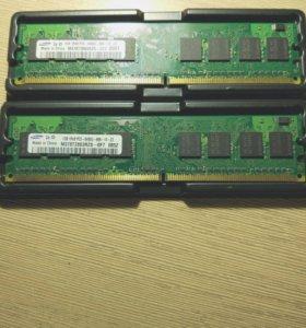 Оперативная память samsung на 2gb ddr 2