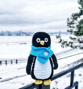 Пингвин ручной работы