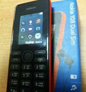 Новый телефон Нокиа 108 Dual Sim