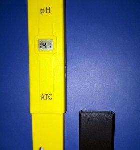 Новый Ph метр с АТС