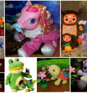 Интерактивные игрушки известных брендов