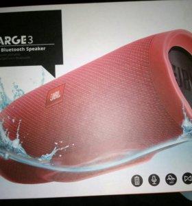 JBL Charge 3 original цвет красный