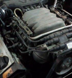 Двигатель ауди 100 обьем 2.8 ( модель AAH)