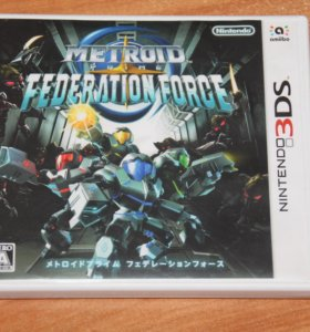 Metroid Prime: Federation Force 3DS (JPN)