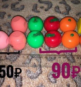 Бальзам для губ в виде фруктов
