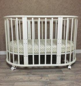 Круглая/овальная кроватка