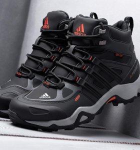 Зимние ботинки с мехом adidas terrex