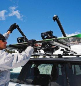 Багажники для перевозки лыж и сноубордов