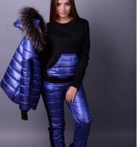 Зимний костюм тройка размеры с 42-46