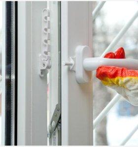 Ремонт окон и дверей , пластиковых , алюминиевых