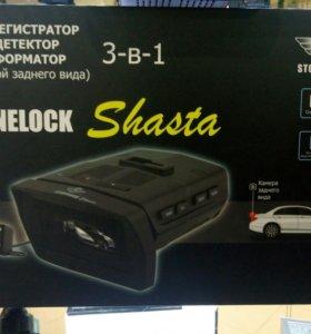 Stonelock Shasta 3-в-1 с камерой заднего вида