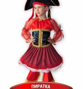 Костюм Пиратки на рост 116-122