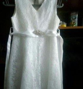 Платье детское праздничное р.120