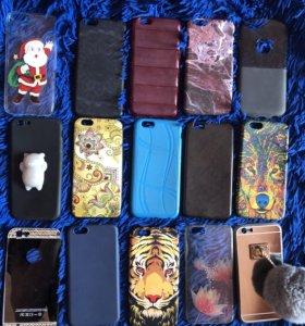 Чехлы пакетом на iPhone 6s