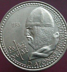 100 эскудо 1985 г. Альфонсо Энрике