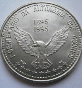 100 эскудо 1995 г. Азорские острова