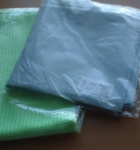 Салфетки из микрофибры от Цептер. 2 штуки