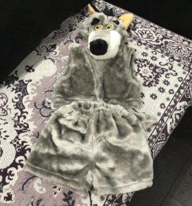 Костюм волка на ребёнка 4-6 лет