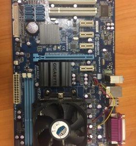Мат. плата Gigabyte GA 780T-D3L+AMD Sempron X2 180