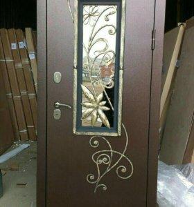 Дверь входная с ковкой Ковка, Венеция, Дина,Левкой