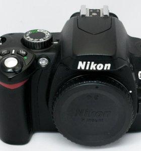 Nikon d60 (body)