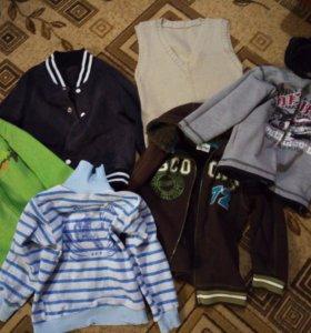 Пакет вещей на мальчика 5-6 лет