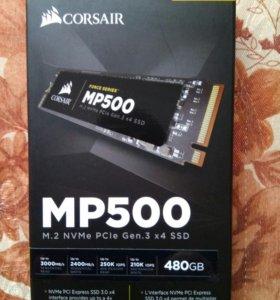 Новый Corsair Force MP500 NVMe SSD M.2 480GB