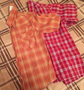 Мужские рубашки мужские с коротким рукавом пакетом