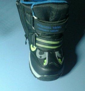 Зимние новые ботиночки для мальчика
