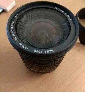 Sigma AF 17-50mm f/2.8 EX DC OS