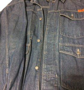 Джинсовая куртка р.56 FUBU