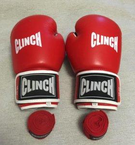 Перчатки боксерские CLINCH 10 oz