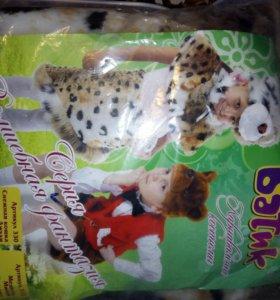 Новогодний костюм.Снежная кошка